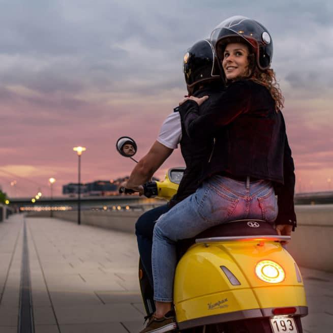 kumpan 54 inspire scooter électrique biplace