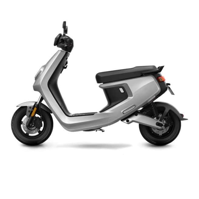 niu mqi+ sport gris scooter ville