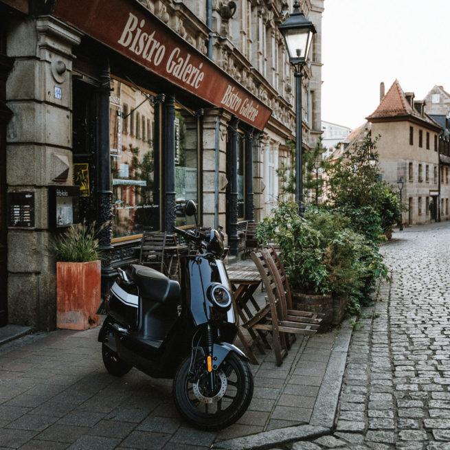 scooter électrique balade en ville