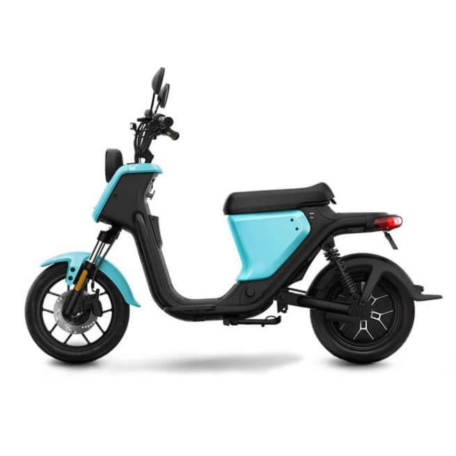 niu uqi sport bleu ciel scooter électrique léger et pratique
