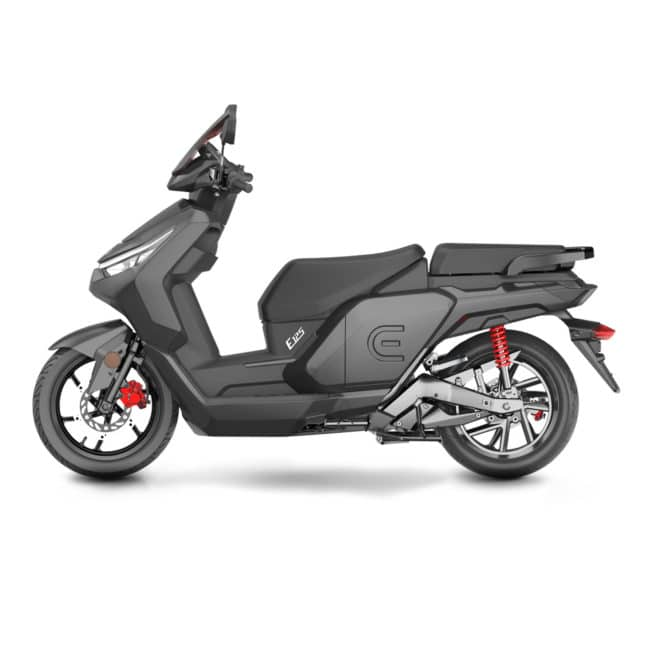 Red Electric E125 Carbone