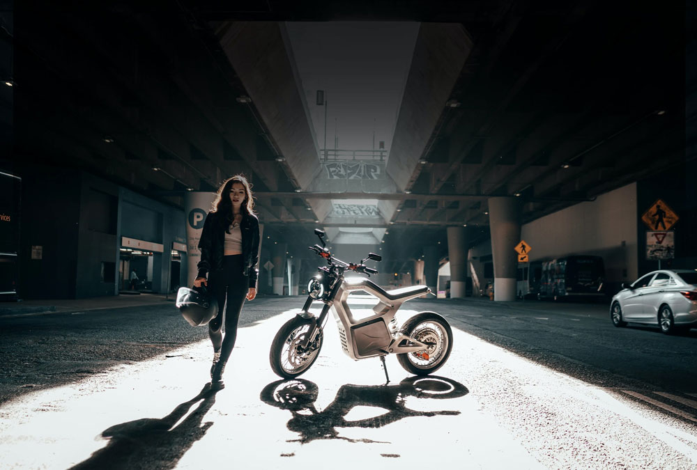 Sondors Metacycle moto électrique design abordable