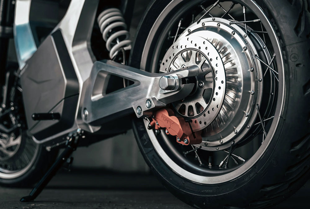 Sondors Metacycle moto électrique moteur hub roues à rayons