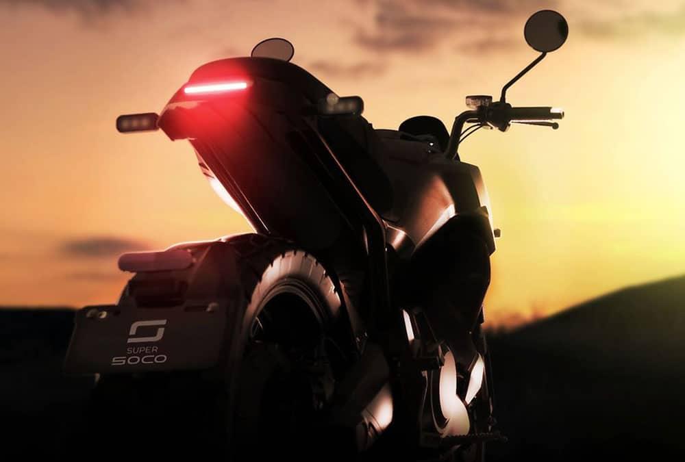 super soco moto électrique 2021