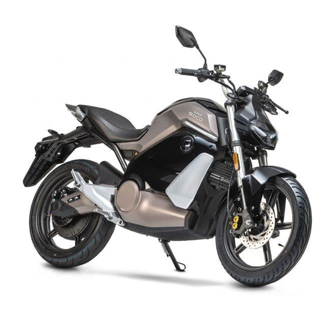 super soco ts street hunter moto électrique équivalent 50 roadster