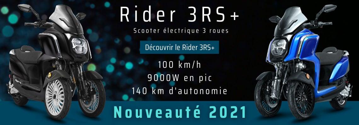3 roues scooter électrique nouveauté 2021
