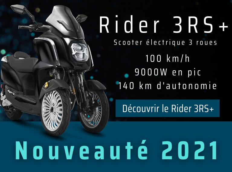 trois roues scooter électrique nouveauté 2021