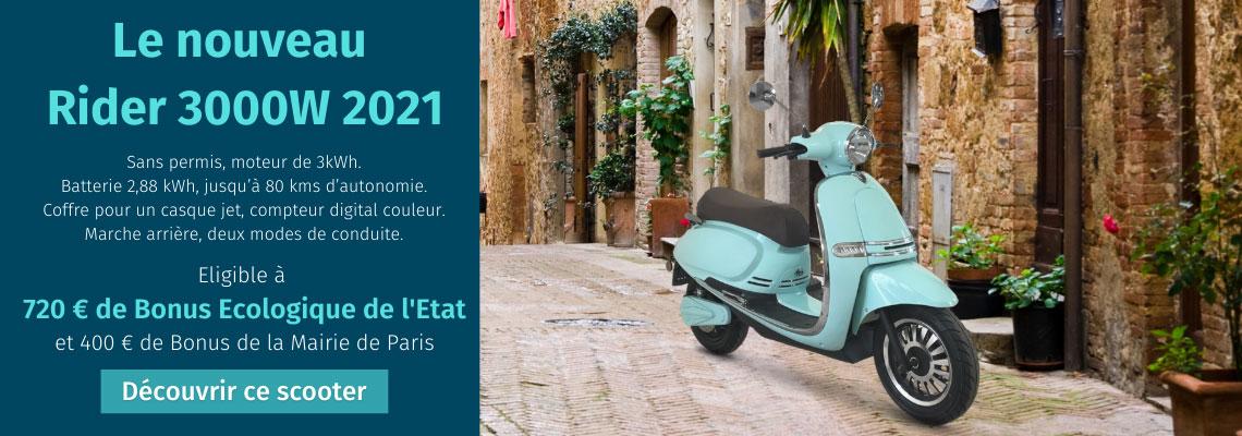 Rider 3000W 2021 nouveauté scooter électrique