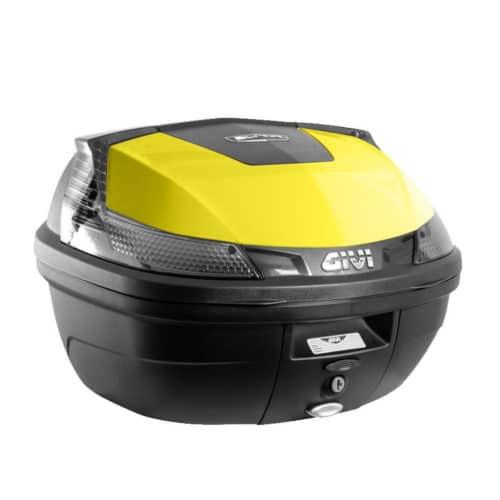 couvercle couleur top case kumpan 54 jaune
