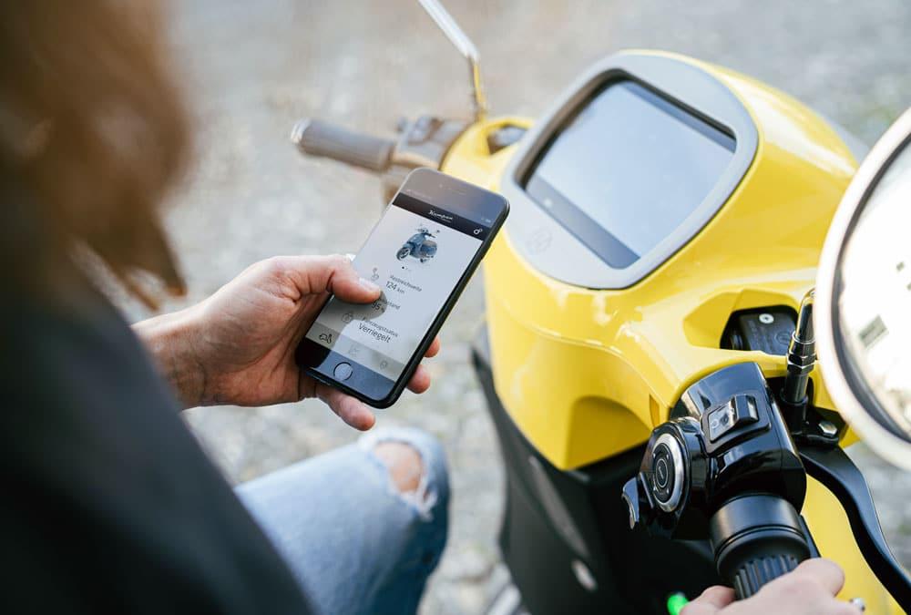 entretien scooter électrique application