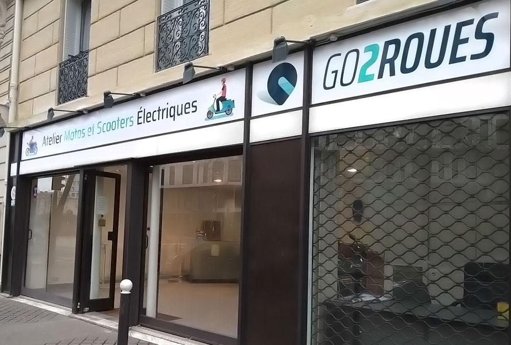 entretien scooter électrique atelier paris