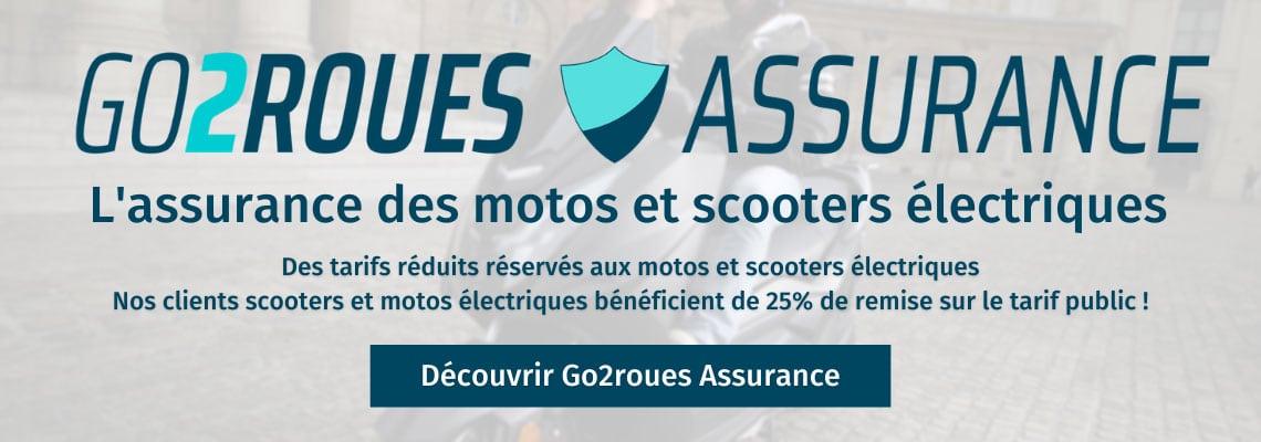 go2roues assurance scooter moto électrique moins chère