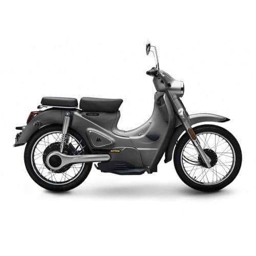 Motron Cubertino noir scooter électrique équivalent 50 cm3 biplace