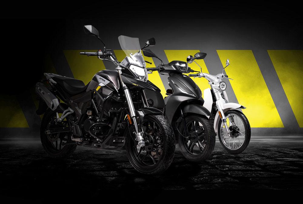 Motron Motocycles gamme 2021
