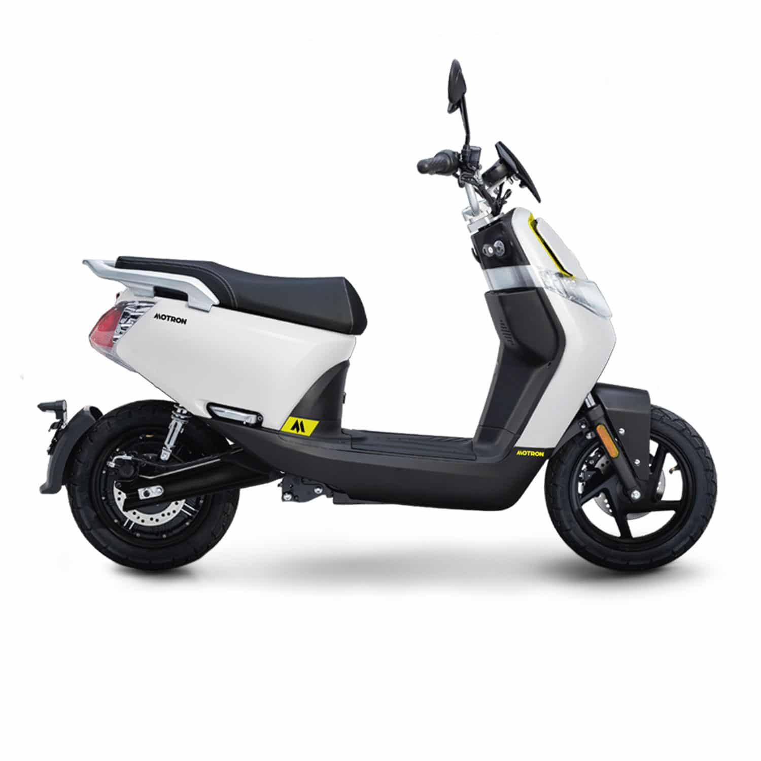 Motron Motorcycles Whizz scooter électrique blanc