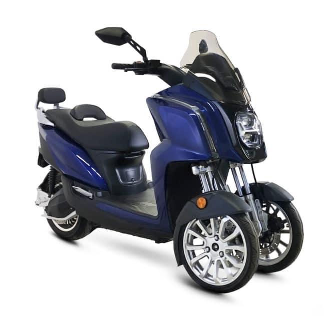 rider 3rs plus scooter électrique 3 roues puissant autoroute voie rapide périphérique ville