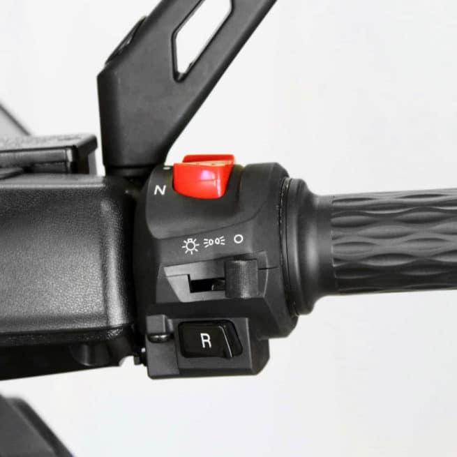 rider 3rs+ scooter électrique trois roues super accélération