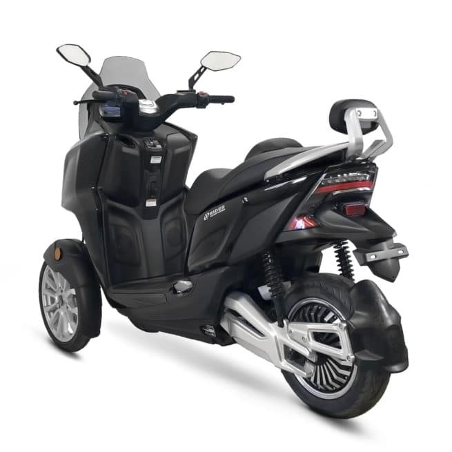 rider 3rs+ scooter trois roues silencieux