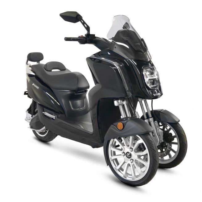 rider 3rs+ scooter électrique 3 roues puissant autoroute voie rapide périphérique ville