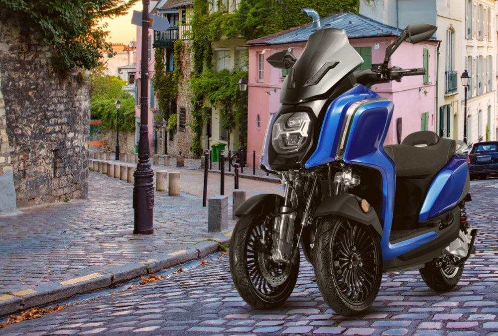 rider 3rs+ scooter 3 roues électrique nouveauté 2021