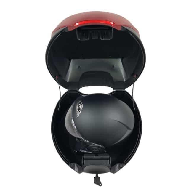 top case rider 3000w 5000w ouvert casque intégral