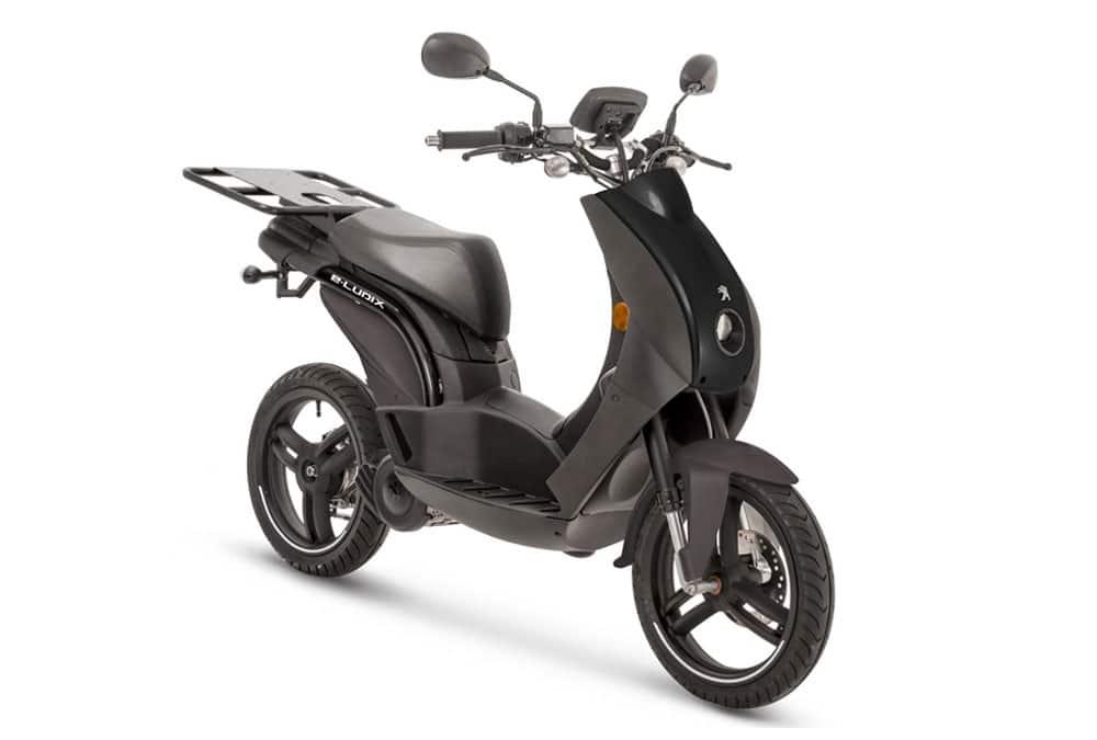 e-Ludix Cargo noir scooter de livraison
