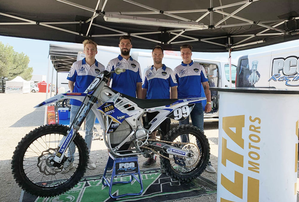 team mtc sx électrique alta motors