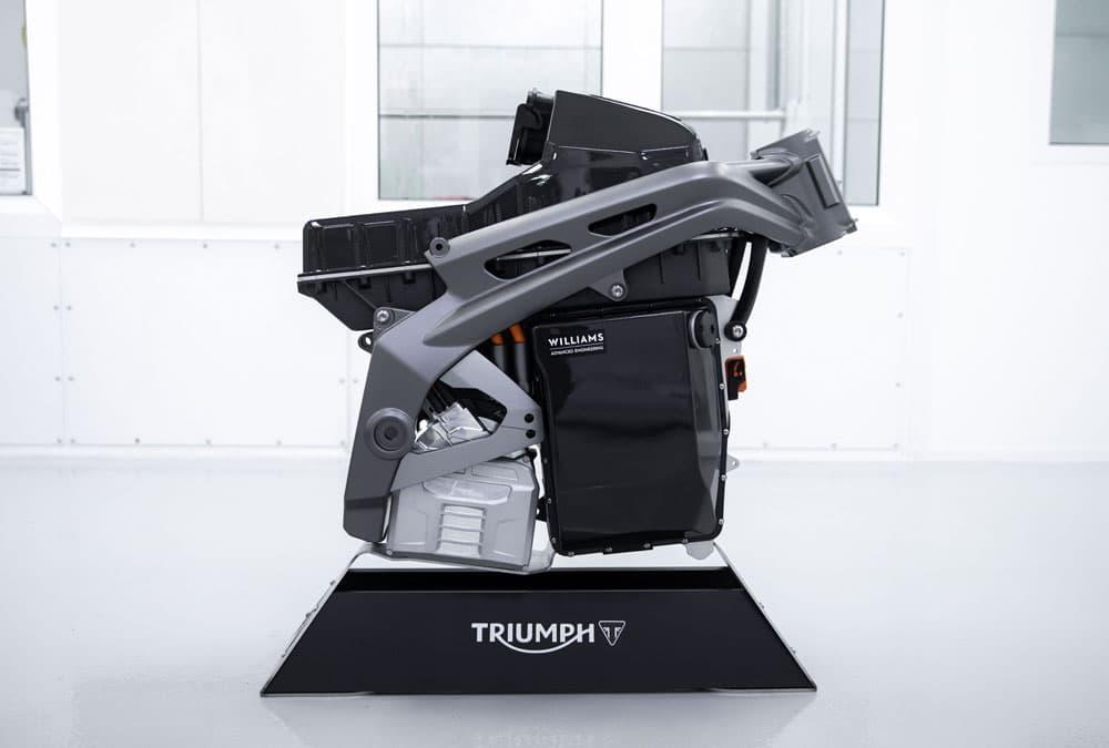 Triumph TE-1 moteur