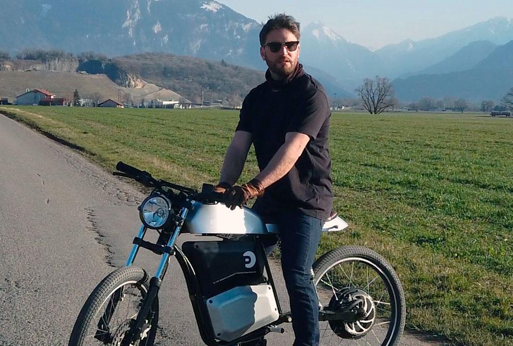 Jonas Ohlsson fondateur de Pepper Motorcycles