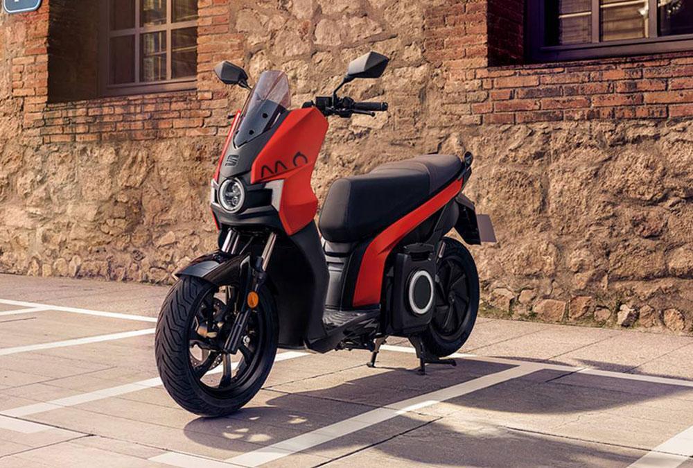 scooter électrique Seat MÓ eScooter eScooter rouge