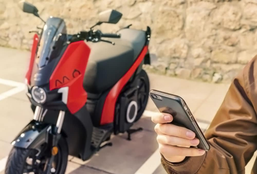 scooter électrique Seat MÓ eScooter application android ios