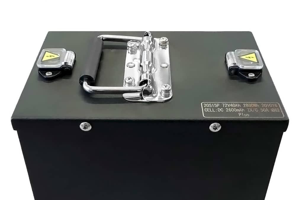 batterie lithium-ion d'un Rider 3000W