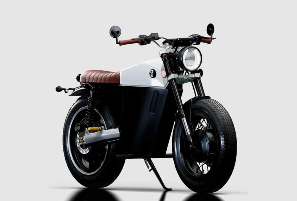 Ox One blanche moto électrique