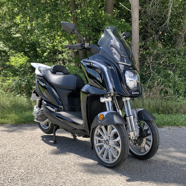 scooter électrique 3 roues campagne