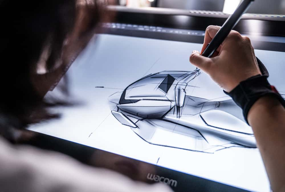 dessin sur tablette tactile du super soco ct-3
